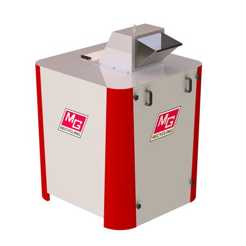 single-shaft shredder / for cables / compact