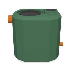 wastewater tank / polyethylene / rinsing / for wastewater treatment