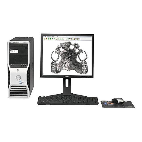 CAD software / scanner