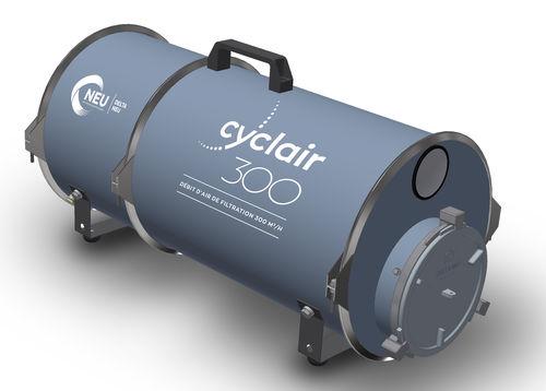 pressure filtration unit / air