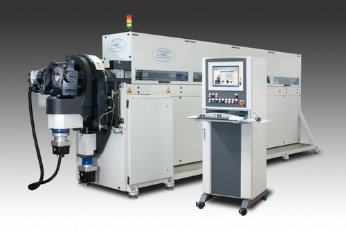 6-axis bending machine / electric / for tubes / CNC
