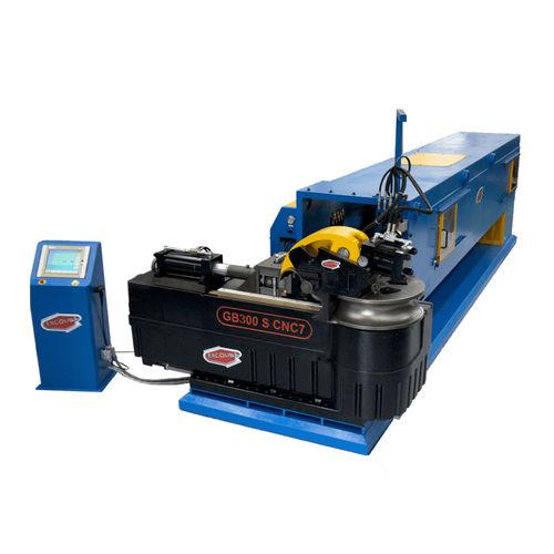 electro-hydraulic bending machine / for tubes / automatic / mandrel