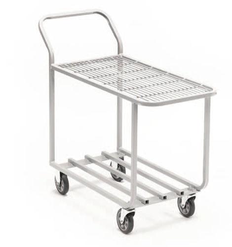 Service cart / wire mesh platform / shelf / multipurpose 470 x 1 108 x 984 mm | T.20.435 CARI-ALL