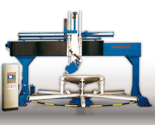 Rotating table grinding-polishing machine / for CNC machine MR/1UT-CNC BRIDGE AUTOPULIT