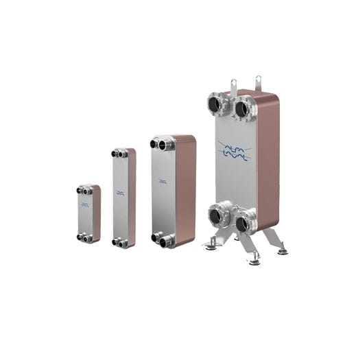 Brazed plate heat exchanger / liquid/liquid / stainless steel / high-temperature CB series Alfa Laval