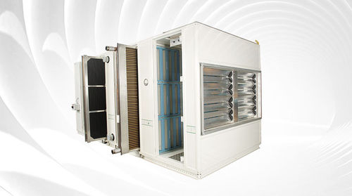 Vertical air handling unit / horizontal / heat-recovery / modular CAIRplus DencoHappel