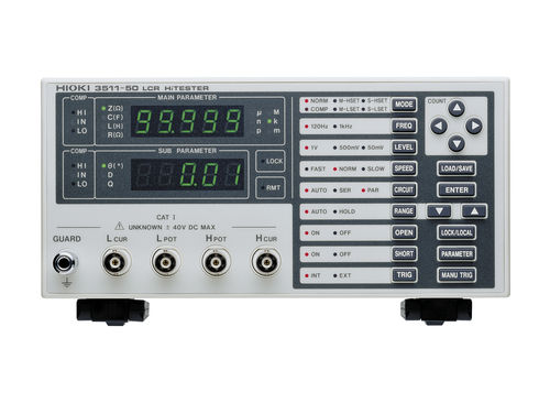 LCR measuring device / benchtop 10 mΩ - 200 Ω, 120 Hz - 1 kHz | 3511-50   HIOKI E.E. CORPORATION