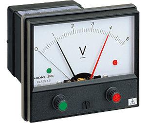 Voltage meter / analog / integrated 1 µA res., 10 mV DC | 2104 HIOKI E.E. CORPORATION