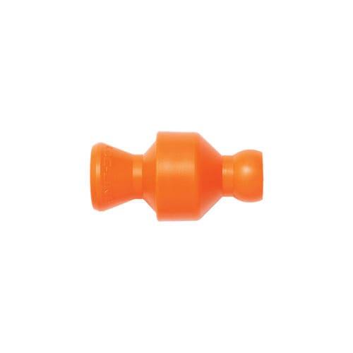 ball check valve / plastic / in-line