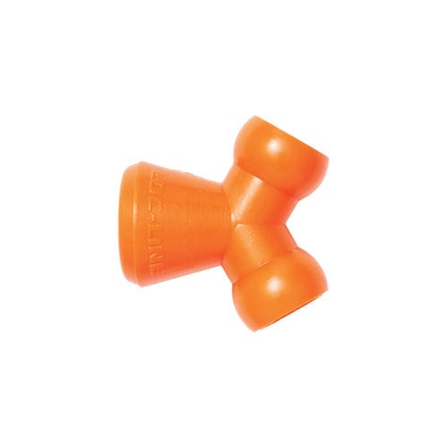 socket fitting / Y / hydraulic / copolymer