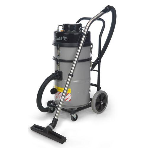 hazardous dust vacuum cleaner / single-phase / industrial / mobile