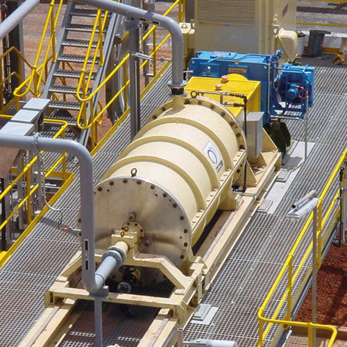 rotor agitator mill / horizontal / for ore / wet