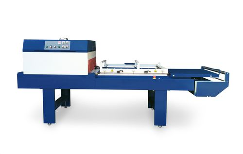 semi-automatic L-sealer / with shrink tunnel / high-speed / large-format