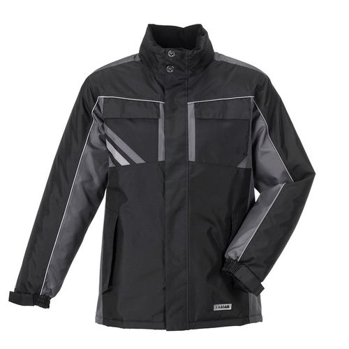work jacket / waterproof / cold weather / polyester