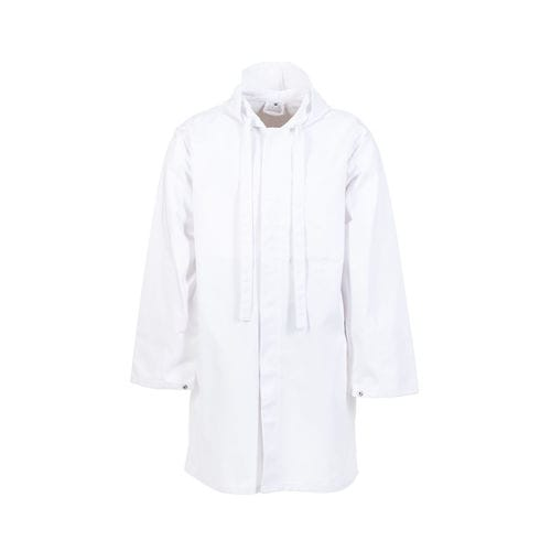 work lab coat / cotton / polyester / for the food industry