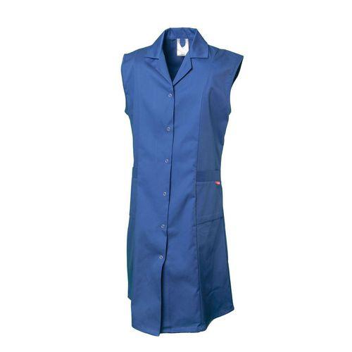 women's lab coat / work / cotton / polyester