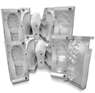 multi-cavity plastic injection mold / shoes / large series / small series