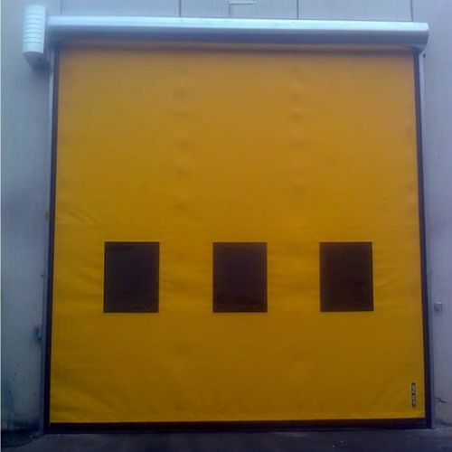 roll-up door / PVC / industrial / exterior