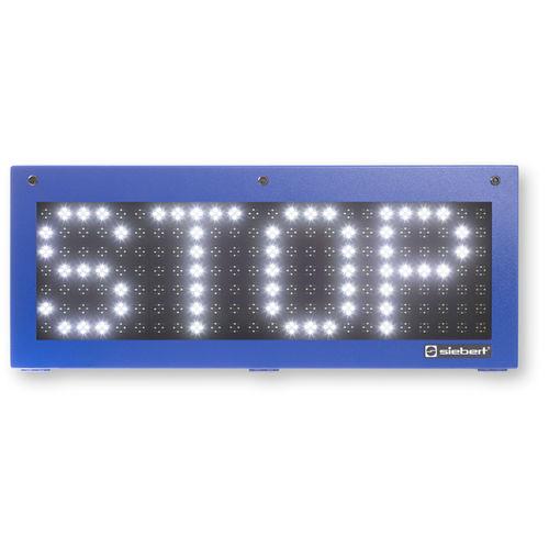 LED displays / alphanumeric / dot-matrix / numeric SX602 series Siebert Industrieelektronik GmbH