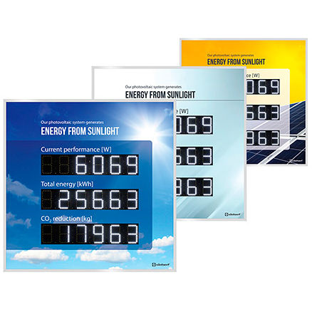LED display / numeric / giant / large-format
