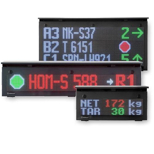 LED display / alphanumeric / dot-matrix / numeric