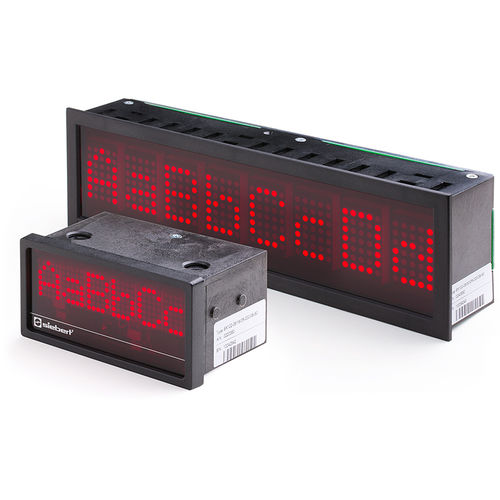LED display / alphanumeric / dot-matrix / numeric