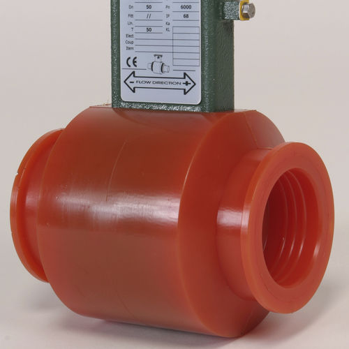 electromagnetic flow meter / for liquids / for water / in-line