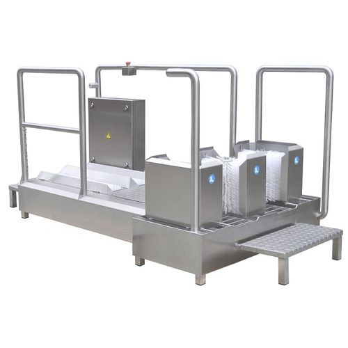 dry cleaning machine / automated / process / stainless steel