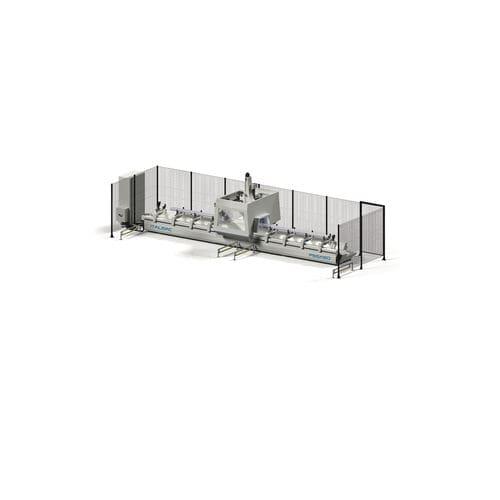 5-axis machining center / vertical / bridge / for aluminum
