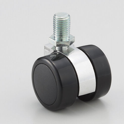 swivel caster / threaded stud / high load capacity / twin