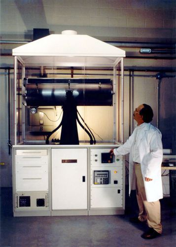 Quenching furnace / tubular / electric / air circulating Rocking crystal Growth Furnace Materials Research Furnaces, Inc.