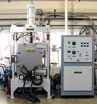 Press furnace / hardening / curing / melting 25-100 Ton Materials Research Furnaces, Inc.
