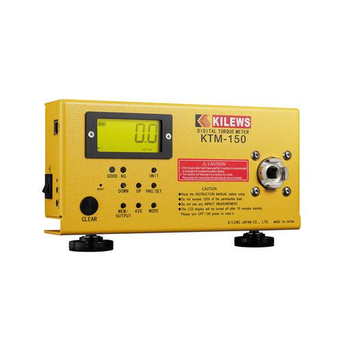 bench-top torque meter / calibration / for screwdriver / digital