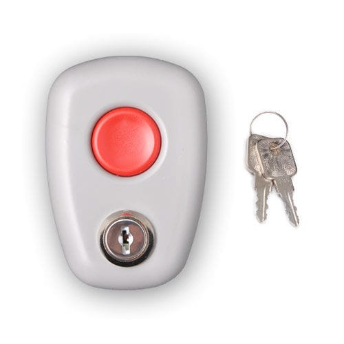 key lock push-button