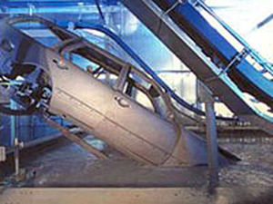chain conveyor / for the automotive industry