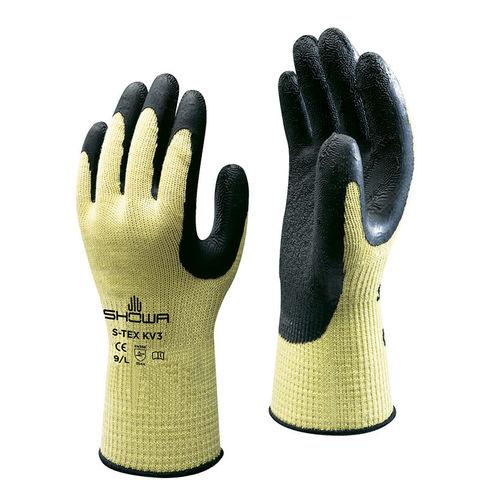 work glove / anti-cut / wear-resistant / latex