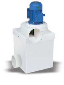Air filter / activated carbon 200 - 400 m³/h | FILTERKIT PLASTIFER