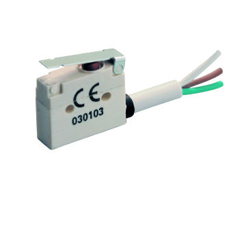 Lever micro-switch / single-pole / PBT / electromechanical MP400 series Microprecision Electronics