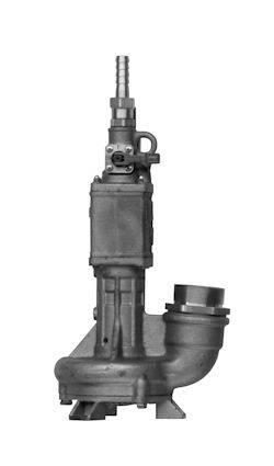 wastewater pump / submersible / centrifugal / industrial