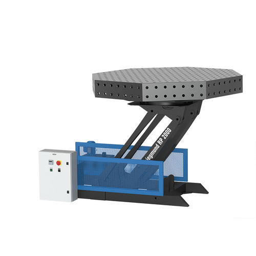 electro-hydraulic welding positioner / rotary / multi-axis / for robots