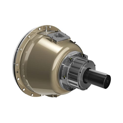 multiple-disc clutch / pneumatic / hydraulic / for heavy-duty applications