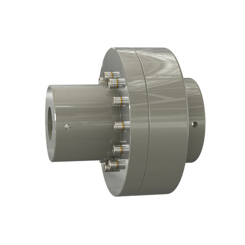 flexible shaft coupling / for shafts / anti-vibration / with spacer