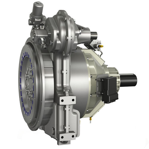multiple-disc clutch / hydraulic / with flexible coupling / flange-mounted