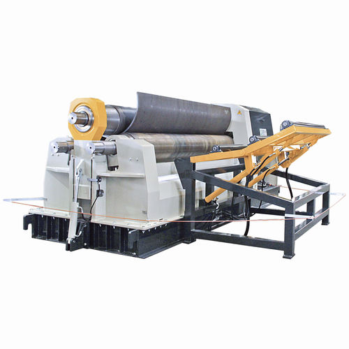 Hydraulic plate bending machine / with 3 rollers SIH IMCAR