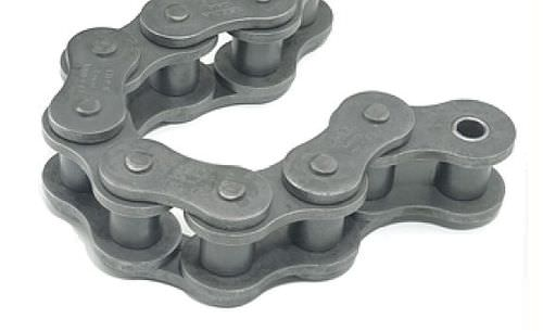 power transmission chain / stainless steel / roller / heavy-duty
