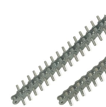 stainless steel chain / with extended bearing pins / attachment