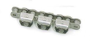 stainless steel chain / gripper / attachment