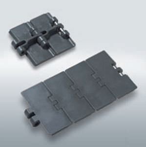 steel conveyor chain / slatted