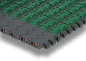 modular conveyor belt / thermoplastic / high-resistance / for heavy loads