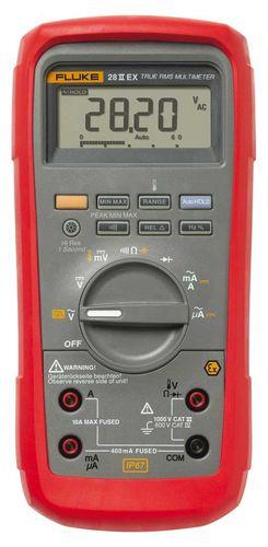 digital multimeter / portable / explosion-proof / industrial